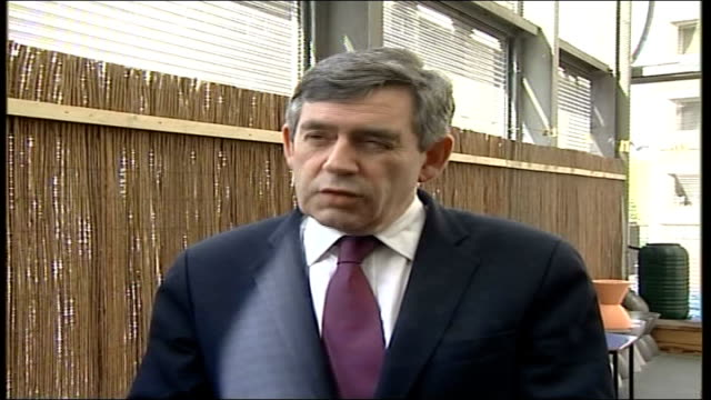 stockvideo's en b-roll-footage met gordon brown mp statement to press sot first duty of a government is the security of its people as police and security services have said on so many... - videoato