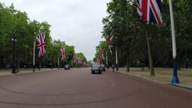 Central London Driving rear POV
