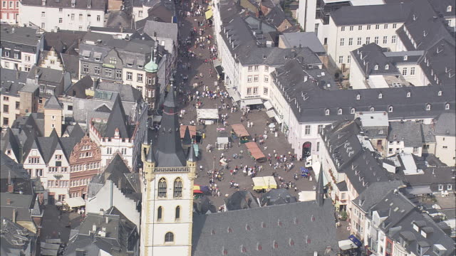 central market square - rhineland palatinate stock videos & royalty-free footage
