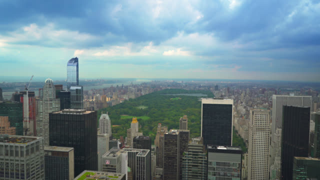central park aerial view, manhattan, new york - 4k resolution stock videos & royalty-free footage