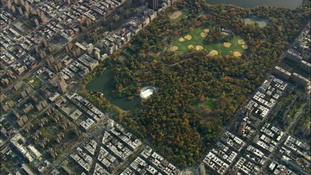 Central Park From 5000ft