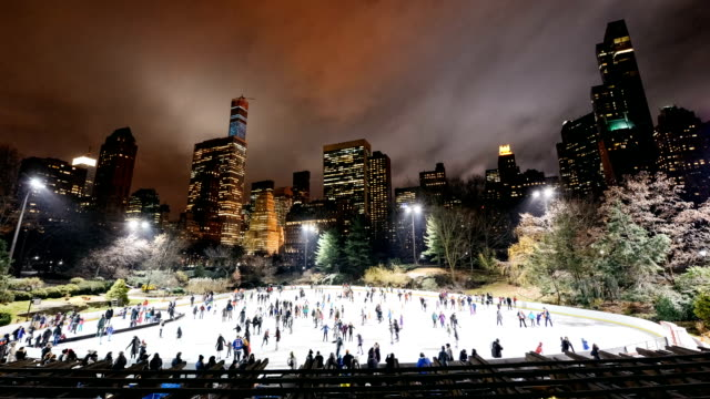 Central Park Ice Skating Rink in New York City
