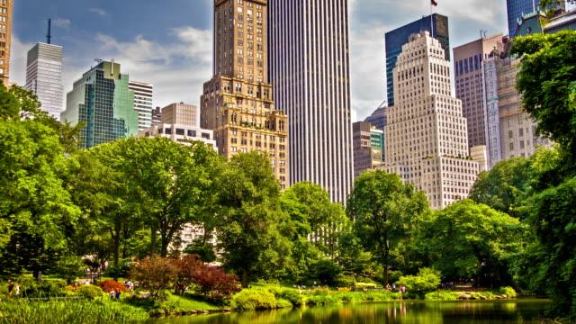 セントラルパークがございます。ニューヨークます。 - マンハッタン セントラルパーク点の映像素材/bロール