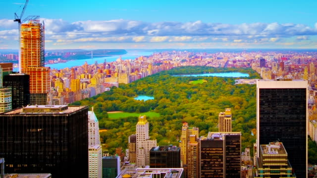central park. new york - kanalinseln stock-videos und b-roll-filmmaterial