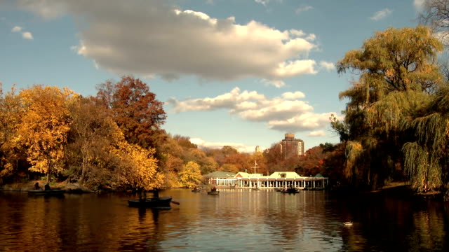 NYC Central Park Pond Boathouse