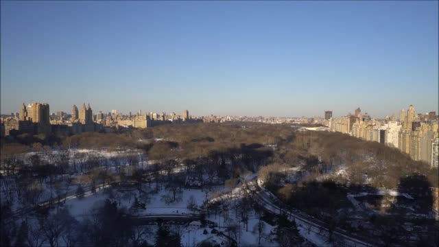 Central Park Shadow Time Lapse