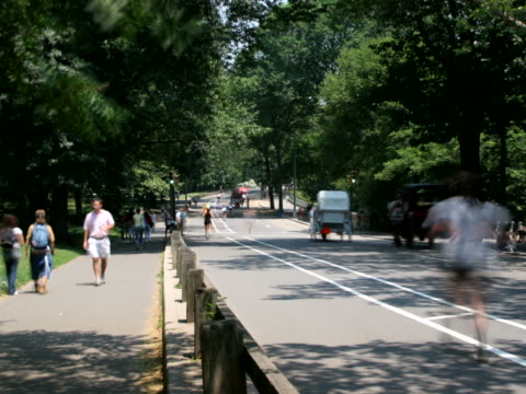 stockvideo's en b-roll-footage met central park traffic, time lapse[br] - artbeats