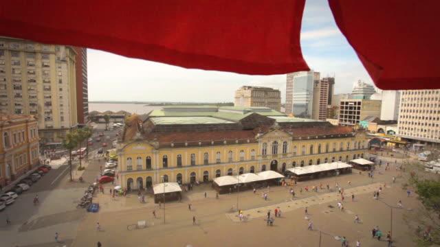 central public market, porto alegre, rio grande do sul - alegre stock videos & royalty-free footage
