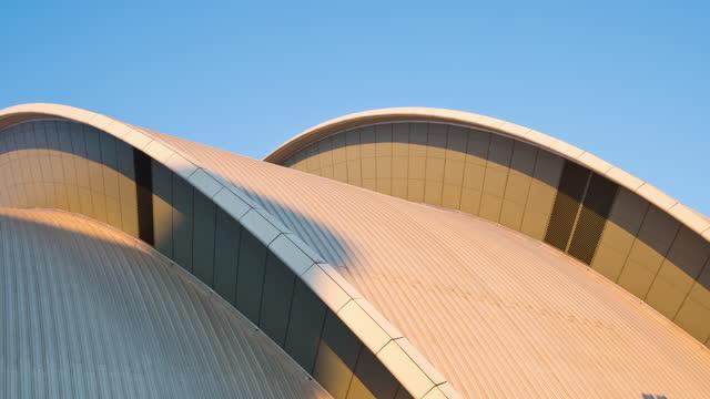 sec centre (exhibition) / glasgow, scotland, united kingdom - scottish culture stock videos & royalty-free footage