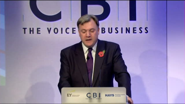 centrica boss to forgo 25 million pound bonus as trust in energy companies at 'all time low' ed balls mp speech sot being pro market and pro... - ファイサル・イスラム点の映像素材/bロール