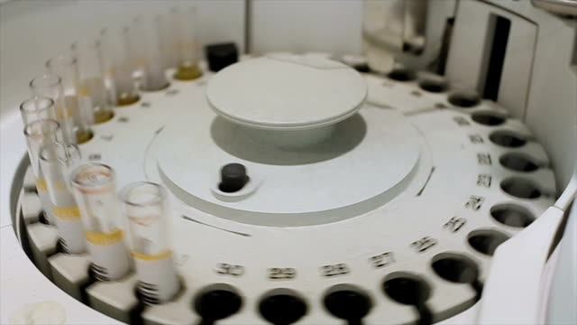 centrifuge in the modern medical laboratory - biochemistry stock videos & royalty-free footage