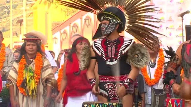 centuries after the arrival of european culture and christianity, the shamans of mexico continue to play an important role for millions. tepoztlan,... - religion stock videos & royalty-free footage