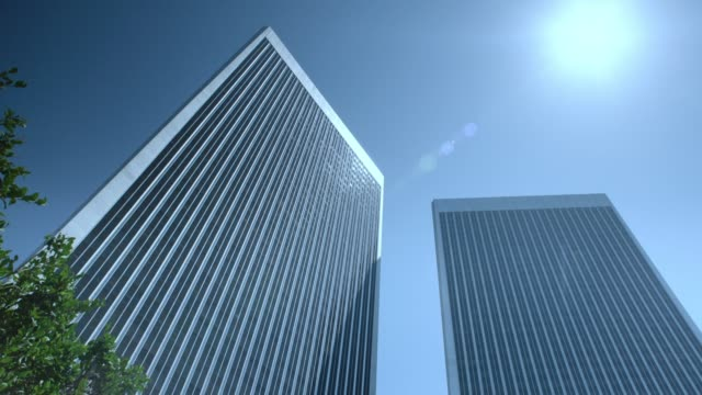century plaza towers in los angeles. - century plaza stock videos & royalty-free footage
