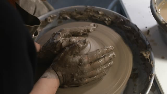 ceramic workshop - potter stock videos & royalty-free footage