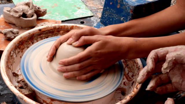 ceramics - drawing artistic product stock videos & royalty-free footage