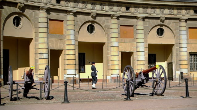 Ceremonial guards in Stockholm