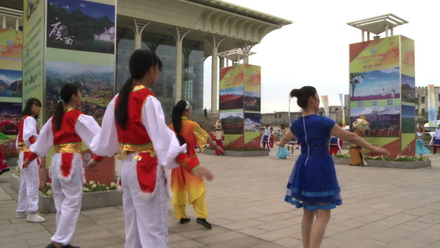 ceremonial regional dance - launch event stock videos & royalty-free footage