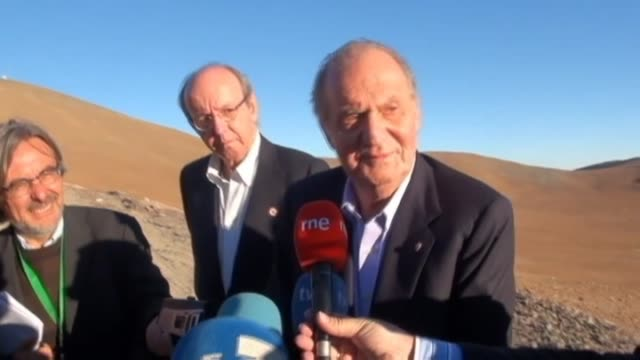 cerro paranal 7 jun spain's king juan carlos is optimistic that his country will soon find a way out of its economic crisis and admitted that... - cerro paranal stock videos and b-roll footage