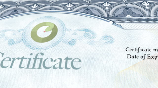 certificate document - diploma stock videos & royalty-free footage