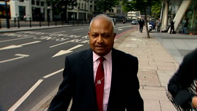 gp who failed to spot symptoms continues to practice london int doctor navin shankar along from general medical council - general medical council stock videos & royalty-free footage