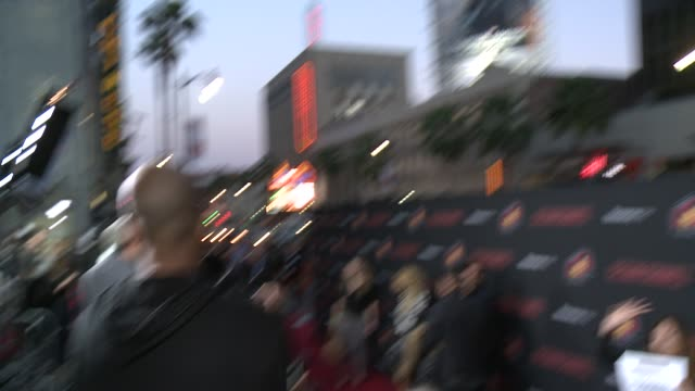 """cesar chavez"""" los angeles premiere at tcl chinese theatre on march 20, 2014 in hollywood, california. - tcl chinese theatre stock videos & royalty-free footage"""