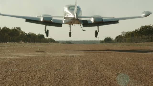 Cessna Lands Over camera