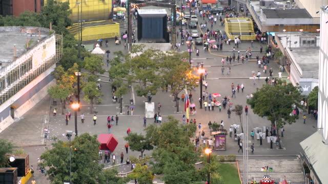 chacaito boulevard - caracas stock videos & royalty-free footage