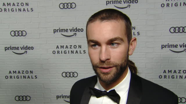 interview chace crawford on why he wanted to celebrate emmy's with amazon thoughts on the nights winners and talks about his amazon series at amazon... - emmy awards stock videos & royalty-free footage