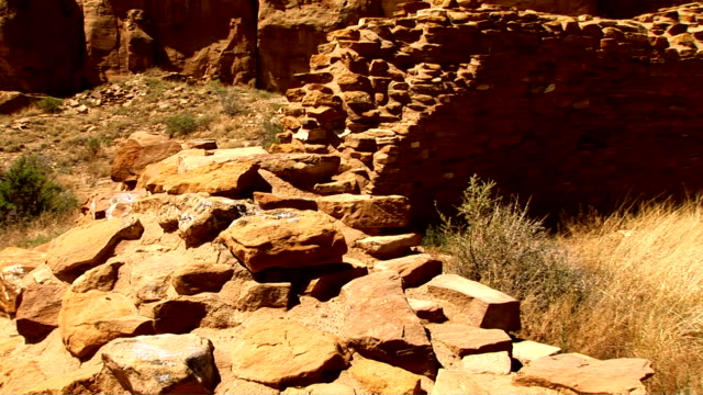 chaco canyon, new mexico - chaco canyon stock videos & royalty-free footage