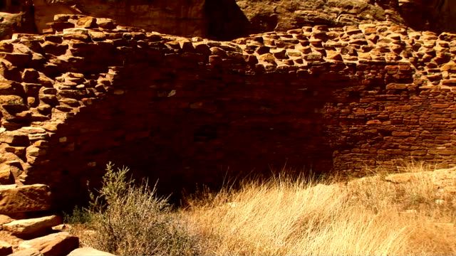 chaco canyon, new mexico - chaco culture national historical park stock videos & royalty-free footage