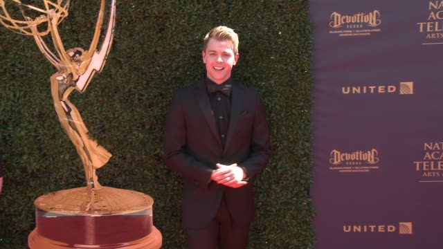 chad duell at the 44th annual daytime emmy awards at pasadena civic auditorium on april 30 2017 in pasadena california - pasadena civic auditorium stock-videos und b-roll-filmmaterial