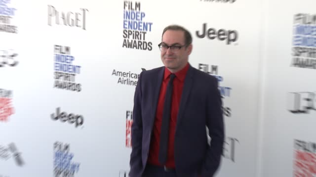 Chad Hartigan at the 2017 Film Independent Spirit Awards Arrivals on February 25 2017 in Santa Monica California
