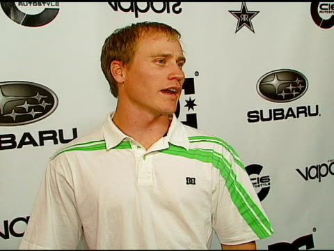 chad kagy at the subaru / dc shoes x games event at avalon in hollywood california on august 4 2006 - dc shoes stock videos & royalty-free footage