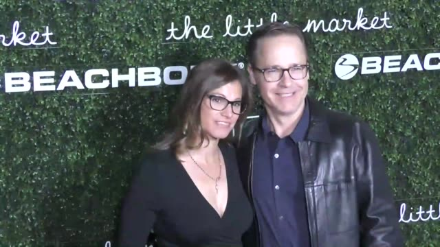 chad lowe and kim painter at the 2017 go campaign gala at neuehouse hollywood on november 18, 2017 in los angeles, california. - chad lowe stock videos & royalty-free footage