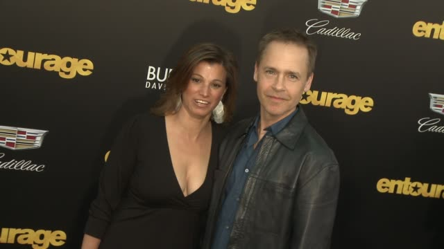 chad lowe at entourage los angeles premiere at regency village theatre on june 01 2015 in westwood california - chad lowe stock videos & royalty-free footage