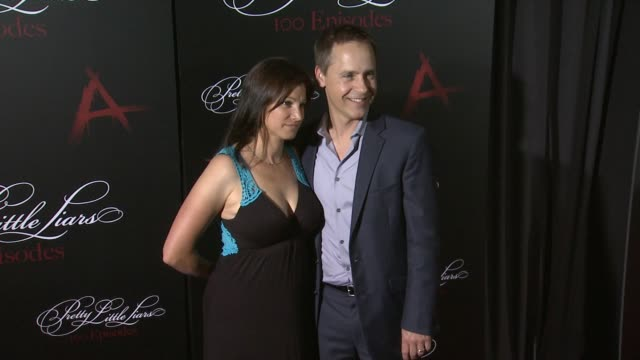 """chad lowe at """"pretty little liars"""" celebrates 100 episodes at w hollywood on may 31, 2014 in hollywood, california. - chad lowe stock videos & royalty-free footage"""