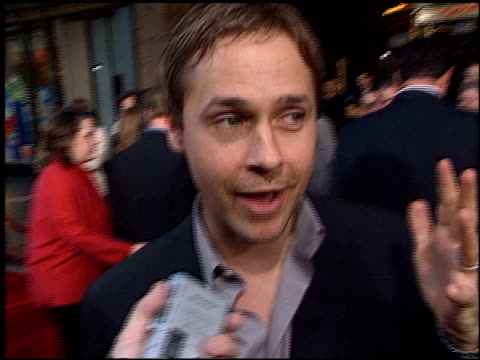 chad lowe at the 'insomnia' premiere at the el capitan theatre in hollywood california on may 22 2002 - chad lowe stock videos & royalty-free footage