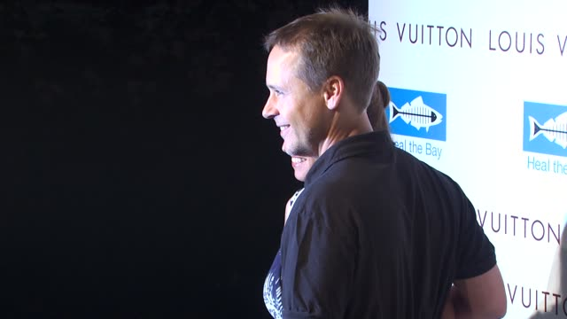 chad lowe at the louis vuitton & heal the bay celebrate louis vuitton's new location at santa monica ca. - chad lowe stock videos & royalty-free footage
