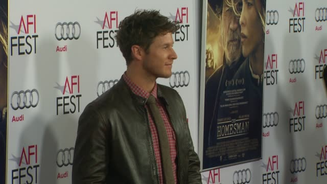 Chad Michael Collins at AFI FEST 2014 Presented By Audi The Homesman Premiere at Dolby Theatre on November 11 2014 in Hollywood California