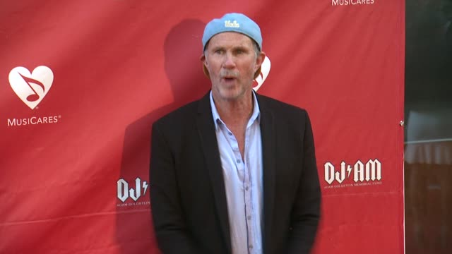 Chad Smith at 2014 10th Annual MusiCares MAP Fund Benefit Concert Arrivals at Club Nokia on May 12 2014 in Los Angeles California