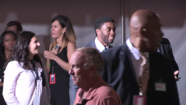 age of ultron premiere in hollywood in celebrity sightings in los angeles - chadwick boseman stock videos and b-roll footage