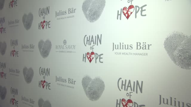 ATMOSPHERE Chain of Hope Gala Ball at Grosvenor House on November 18 2016 in London England