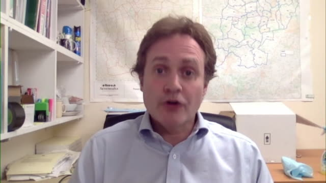 """chair of the foreign affairs committee tom tugendhat saying communication between the government and uk tourists overseas when the coronavirus... - """"bbc news"""" video stock e b–roll"""