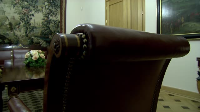 chair with leather upholstery - home showcase interior stock videos & royalty-free footage