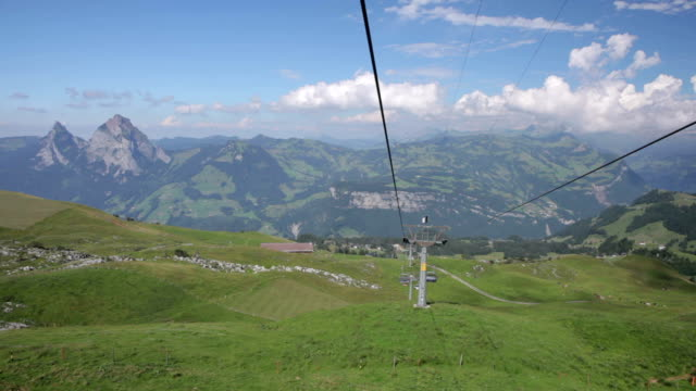 Chairlift from Mount Fronalpstock