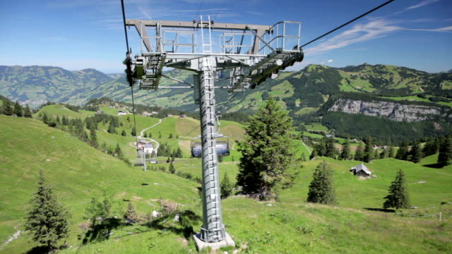 Chairlift from Mount Klingenstock