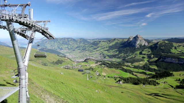 Chairlift to Mount Klingenstock