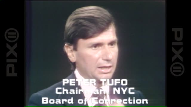 chairman of board of correction in nyc peter tufo comments on how the system failed collectively july 18 1977 in new york city - 1977 stock videos & royalty-free footage
