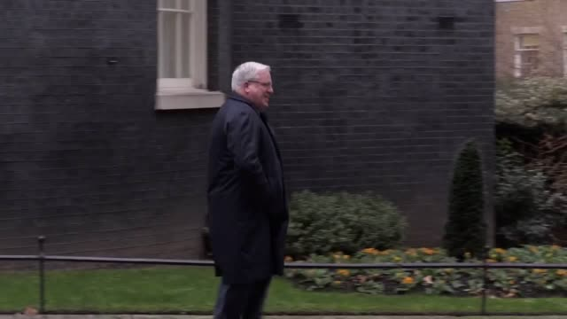 Chairman of the Conservative Party and Derbyshire Dales MP Patrick McLoughlin leaves Downing Street ahead of the cabinet reshuffle