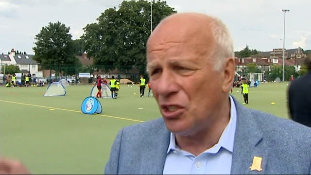 fa chairmans says qatar is too hot for the world cup 2022 greg dyke interview england london ext greg dyke interview sot - greg dyke stock videos & royalty-free footage